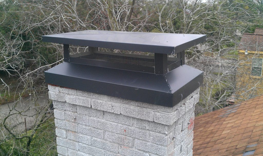 Gas Fireplace Chimney Caps : Chimney cap installation services in texas